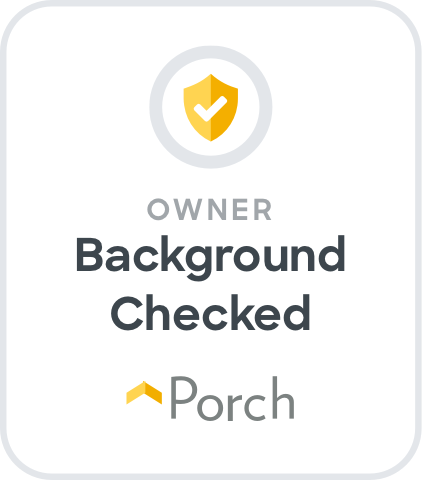 Porch - Owner Background Checked